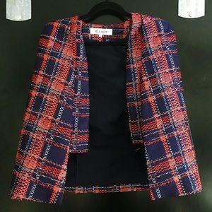Elliatt Jackets & Coats - Vibrant Plaid Cape